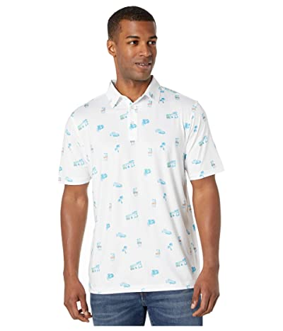 Straight Down Traveler Polo (Voodoo) Men