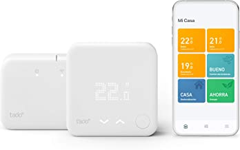 tado° Termostato Inteligente Inalámbrico Kit de Inicio V3+ - Control inteligente de calefacción, Designed in Germany, trab...