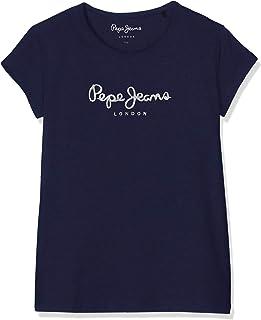 Pepe Jeans Hana Glitter S/S Camiseta para Niñas