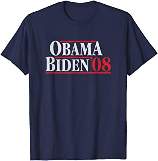Obama 08 Shirt - Retro Campaign Obama Biden