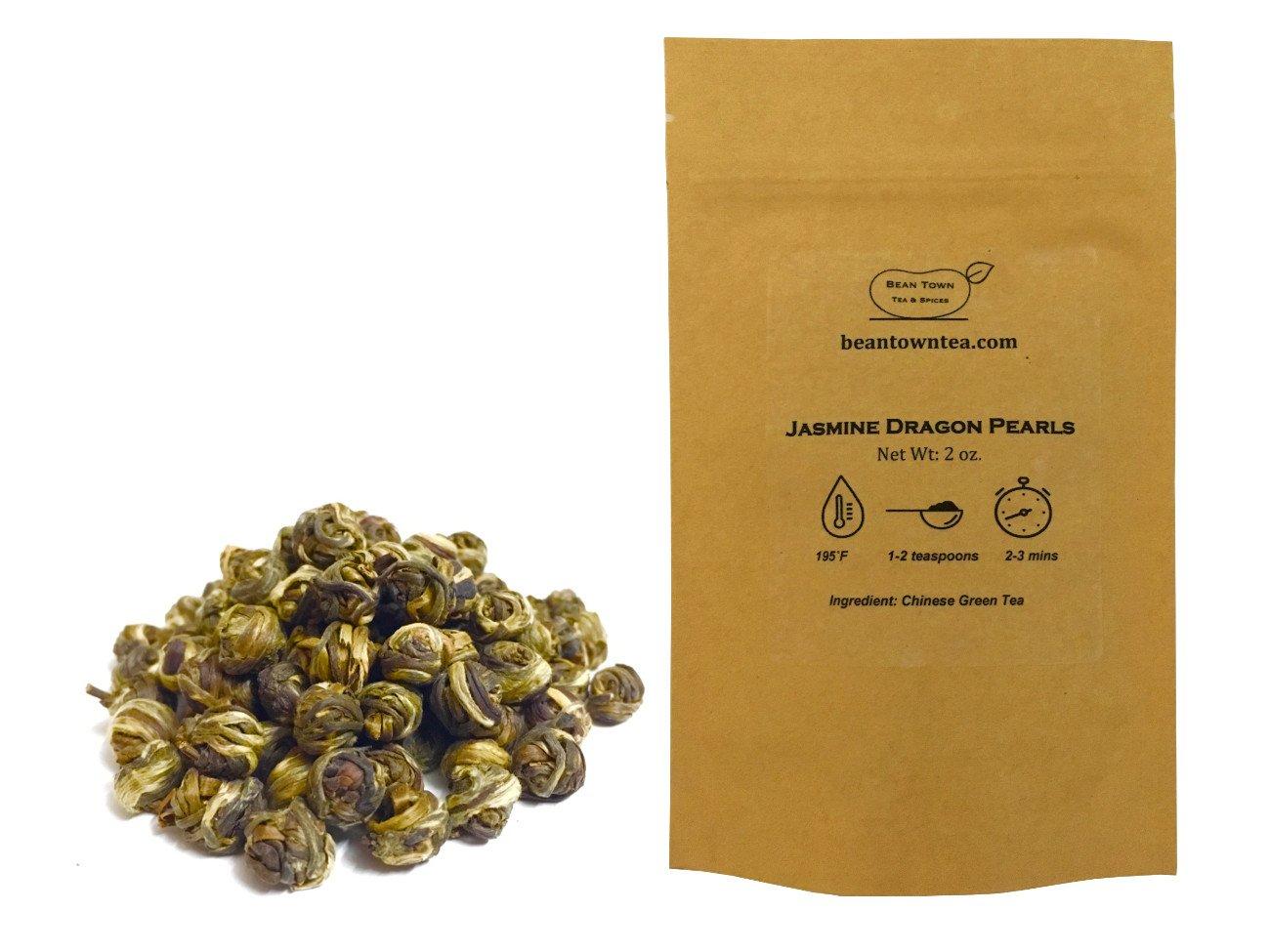 Beantown Tea Spices - Top Dragon Ranking TOP1 Grade Premium Jasmine Price reduction Pearls.