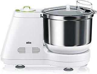 Braun TributeCollection Kitchen Machine, 900 Watt, White - KM3050