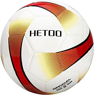 hetoo Waterproof Soccer Ball, Most Reasonable Construction Technology Football for Adult and Kids, Best Outdoor Sports Practice Soccer Ball-Size 5 4 3