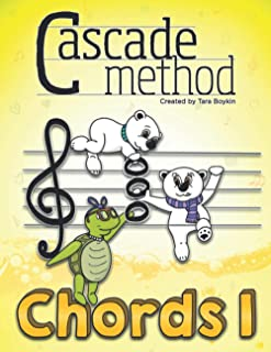 Cascade Method Chords 1 by Tara Boykin: A Fun Way to Teach Piano Students How to Read Chords, Notice Chords Throughout a G...