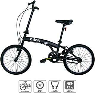comprar comparacion Nilox Micro Bike 20P-X0 Bicicleta (Plegado, Completo, Acero, 50,8 cm (20