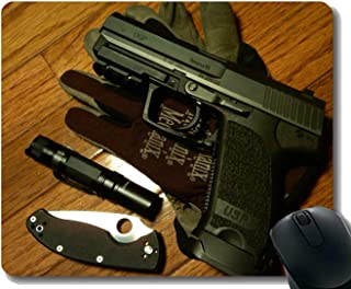 Gaming Mouse Pad Custom, Love Gun Cuchillo Arma Mouse Pad co