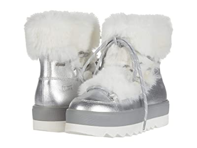 Cougar Vanity Waterproof (Silver Leather/Faux Fur) Women