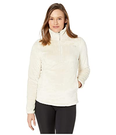 The North Face Osito 1/4 Zip Pullover (Vintage White) Women