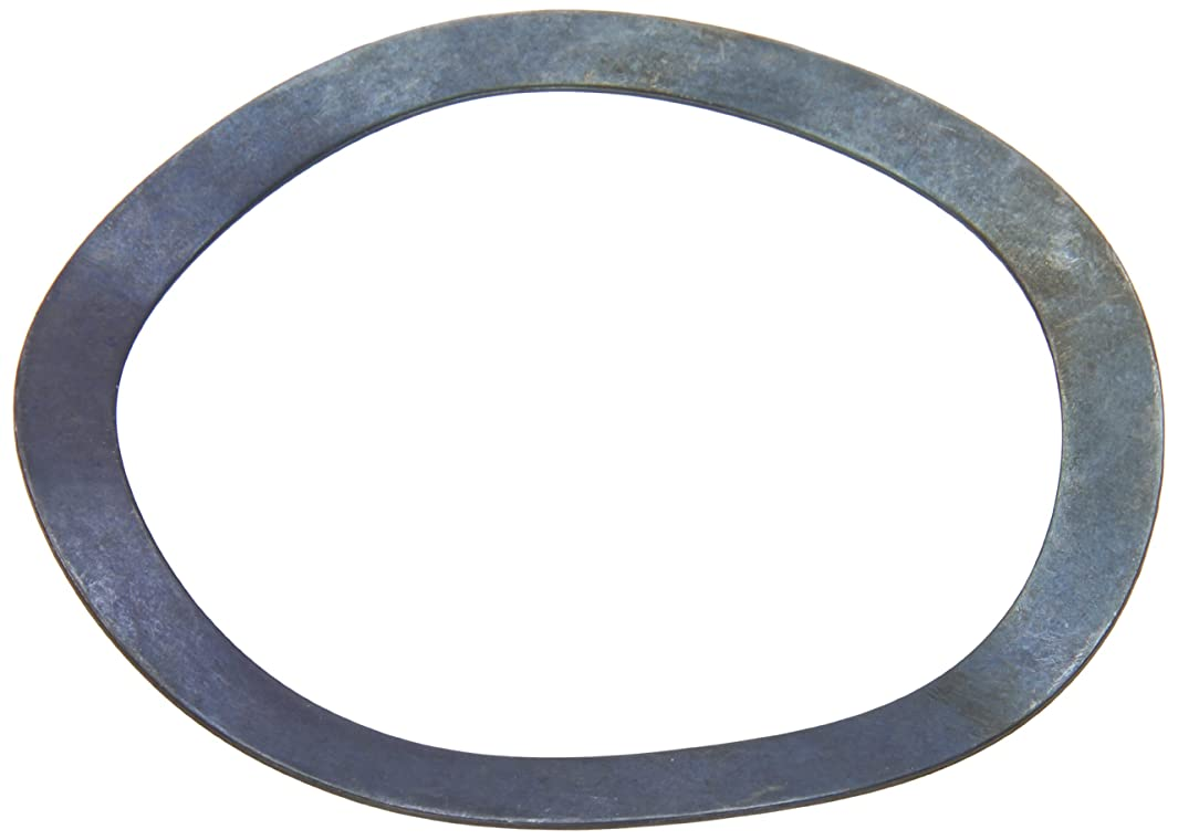Compression Type Wave Washer, Carbon Steel, 4 Waves, Inch, 3.228