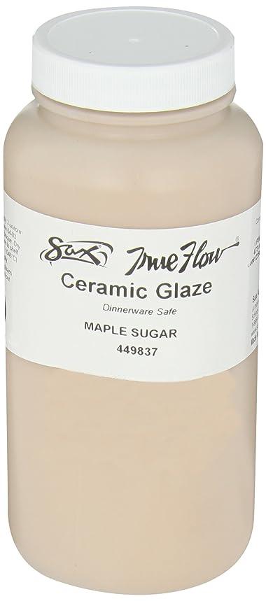 Sax True Flow Gloss Glaze, Maple Sugar, 1 Pint