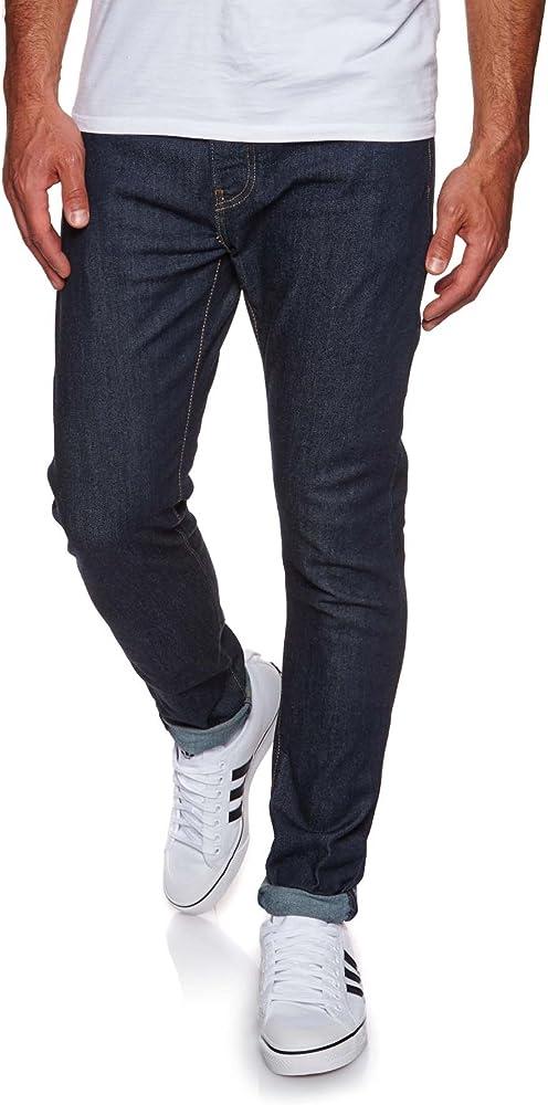 Levi`s 512 jeans uomo,slim taper ,in 93% cotone, 4% poliestere, 2% polietilene, 1% elastan 28833