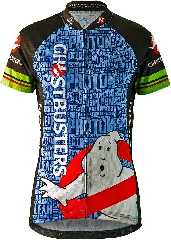 Brainstorm Gear 2015 Women's Ghostbusters Slimer Cycling Jersey  GBSW