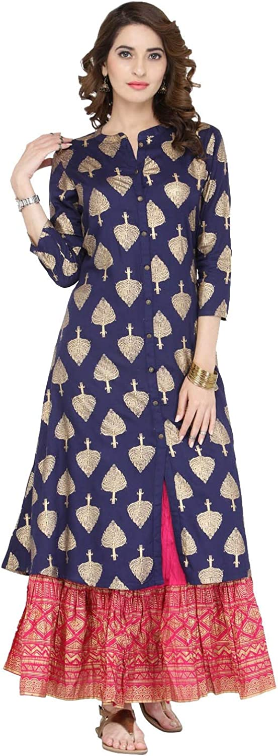 Kurta Set for Women Indian Designer Don't miss the campaign Ranking integrated 1st place Skirt F Palazzo Or