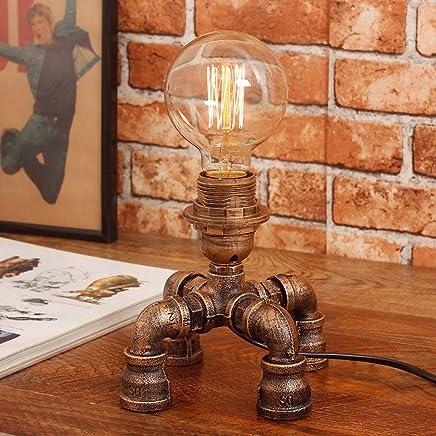 Amazon.es: mesas rusticas de campo - Lámparas de mesa y ...