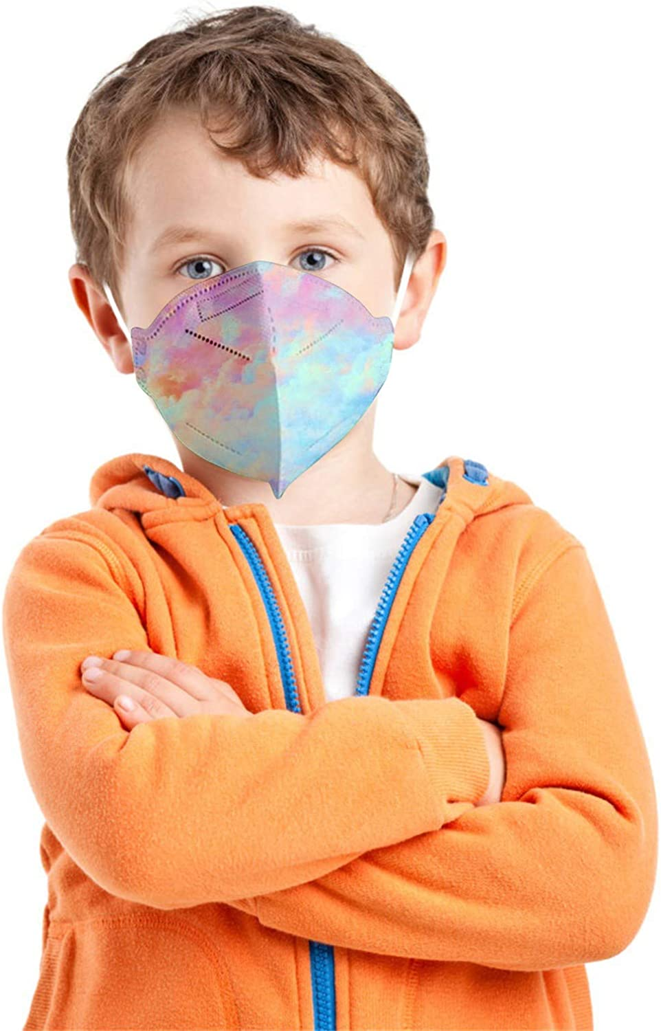 Pacoco 20pc 50pc Lowest price challenge 100pc 5-Layer OFFicial mail order High-Density Kids Rainb Face_mask