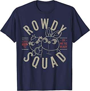 Pixar Toy Story 4 Duck & Bunny Rowdy Squad Poster T-Shirt