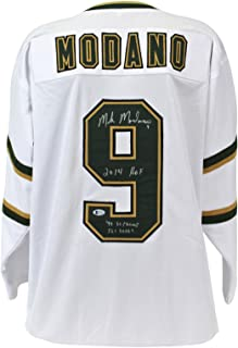 mike modano autographed jersey