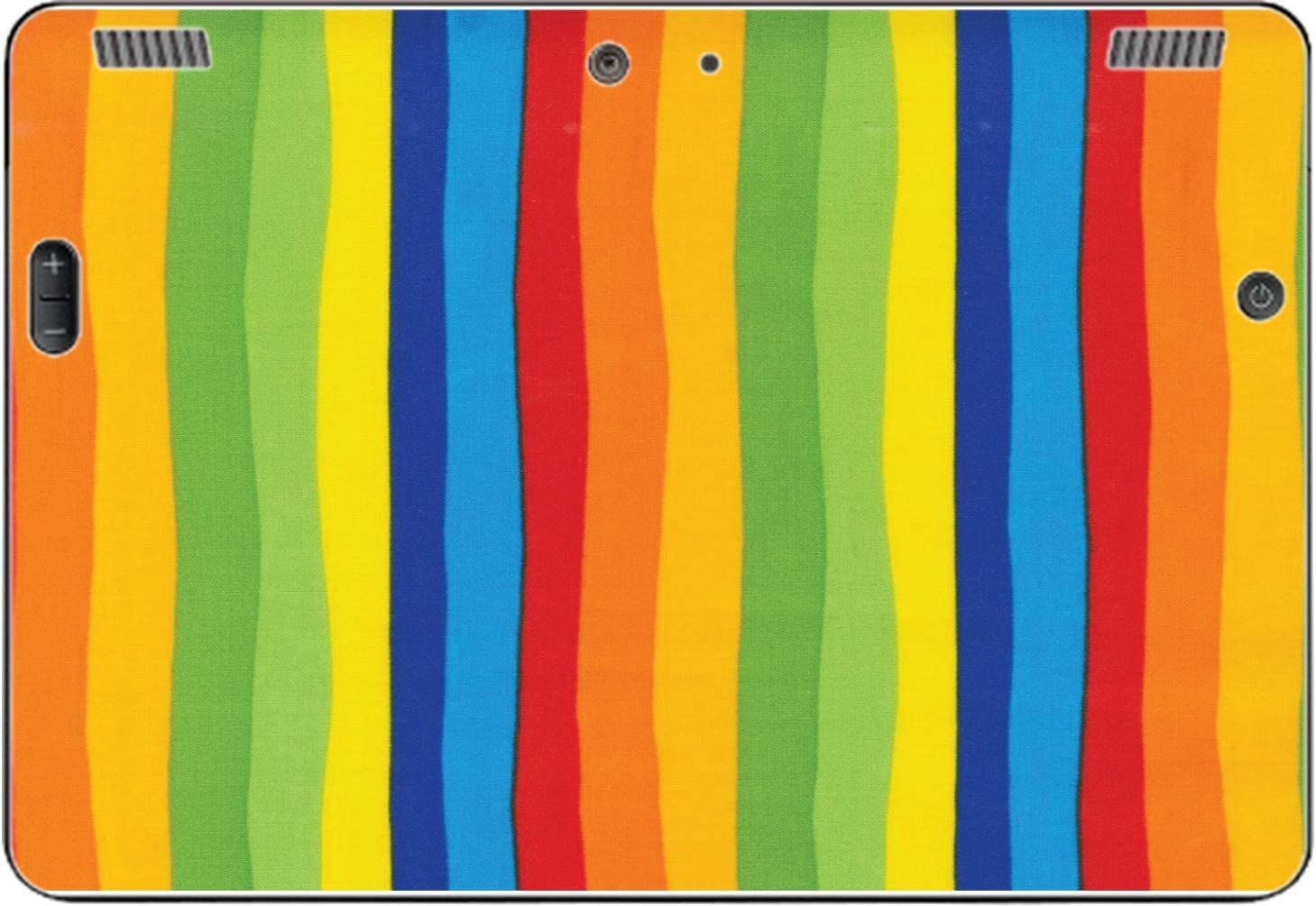egeek amz Vertical Max 65% OFF Rainbow Quality inspection Stripes Vinyl for Skin Sticker Decal
