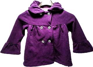 Mack & Co. Girls' Fleece Coat- Purple (6)