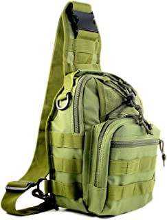 HELMASK Collection Military Army Tactical Outdoor Daypack Rover Shoulder Sling Pack Chest Pack MBB004