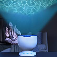Calming Autism Sensory LED Light Projector Toy Relax Blue Night Music Projection