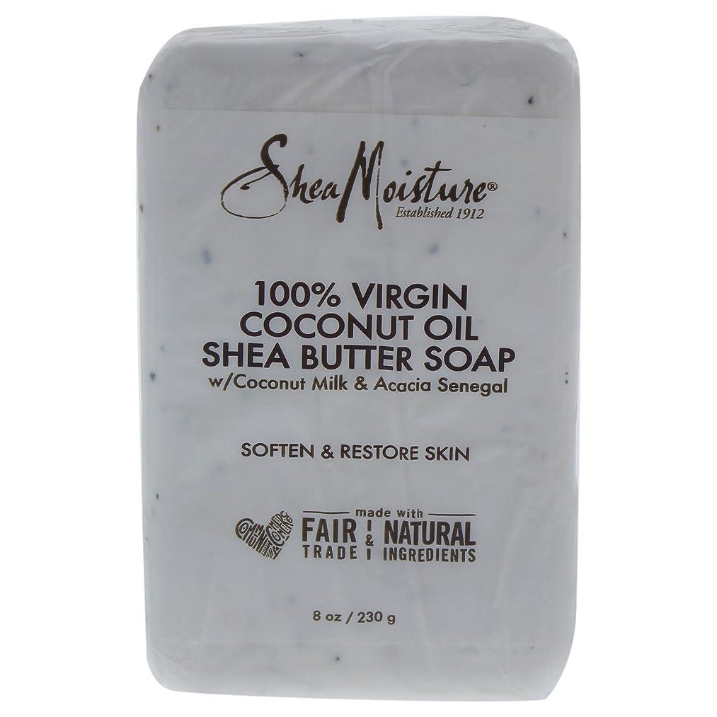 ヘッドレスライフルコモランマShea Moisture バーソープ (100% Virgin Coconut Oil Shea Butter Soap)