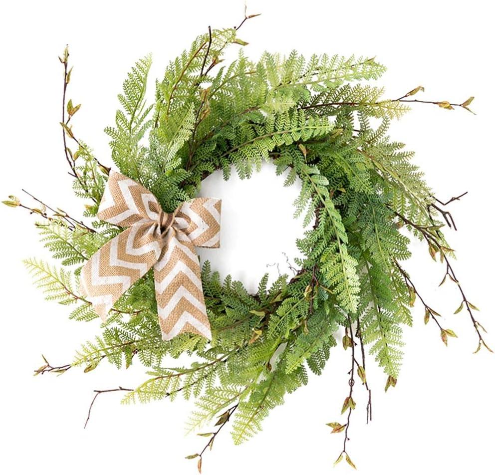 whl Hanging Wreath Artificial - Green 17.7
