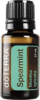 doTERRA - Spearmint Essential Oil - Promotes Digestion, Promotes Uplifted Mood and Sense of Focus, Cleanses Mouth and Freshens Breath; for Diffusion, Internal, or Topical Use - 15 mL
