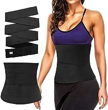 MoKo Waistband Slimming Body Shaper Belt, Three/Four Metres Long Adjustable Fitness Bandage Wrap Lumbar Waist Support Trai...