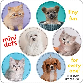 SmileMakers Rachael Hale Mini Dot Stickers - Birthday Party Favors - 100 per Pack
