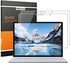 [2 PACK] Megoo Screen Protector for Surface Laptop 13.5 Inch,Tempered Glass/Easy Installation/Ultra Clear Screen, Compatib...