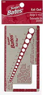 Susan Bates 14099 Knit-Chek for Knitting Needle, 3 by 5-1/2-Inch