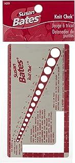 Susan Bates Knit-Chek 14099 pour Aiguilles à Tricoter, 7,6 x 13,7 cm