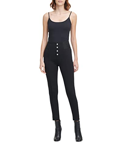Calvin Klein Compression Leggings with Four Buttons Women