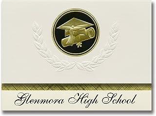 Annonces de signature Glenmora High School (Glenmora, LA) Annonces de diplôme, style présidentiel, Paquet Elite de 25 Scea...