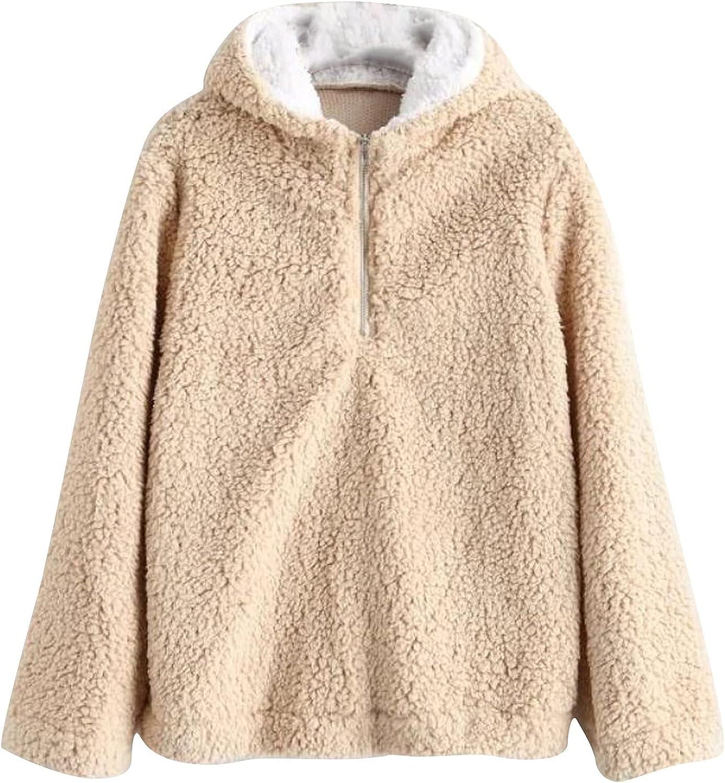 INORZYI Cute Oversized Sweaters Jackets Hoodies Pul Up Max 47% OFF Financial sales sale Women Zip