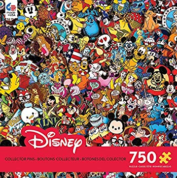 Ceaco 750 Piece Disney Collection - Photo Magic Pins Jigsaw Puzzle Kids and Adults