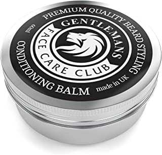 Beard Balm - Premium Quality Conditioning Butter For Creating Beard Styles, Goatees, Sideburns + Moustaches – Extra Large 60ml Tub