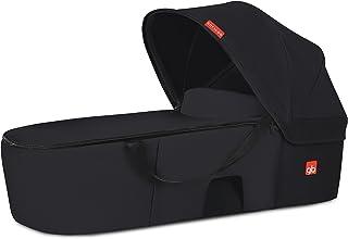 gb Gold - Capazo Cot to Go, para sillas de paseo Qbit+ y Pockit+, Satin Black