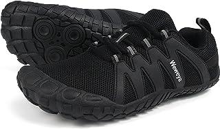 حذاء كروس للتدريب للنساء الحد الأدنى للجري، حذاء عاري القدم مربع واسع عند الأصابع