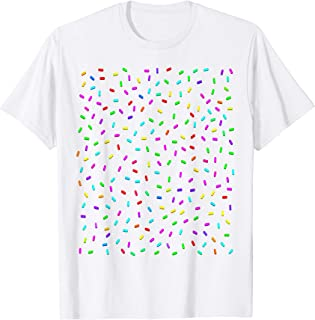 Rainbow Sprinkles Ice Cream Costume Candy Halloween T-Shirt