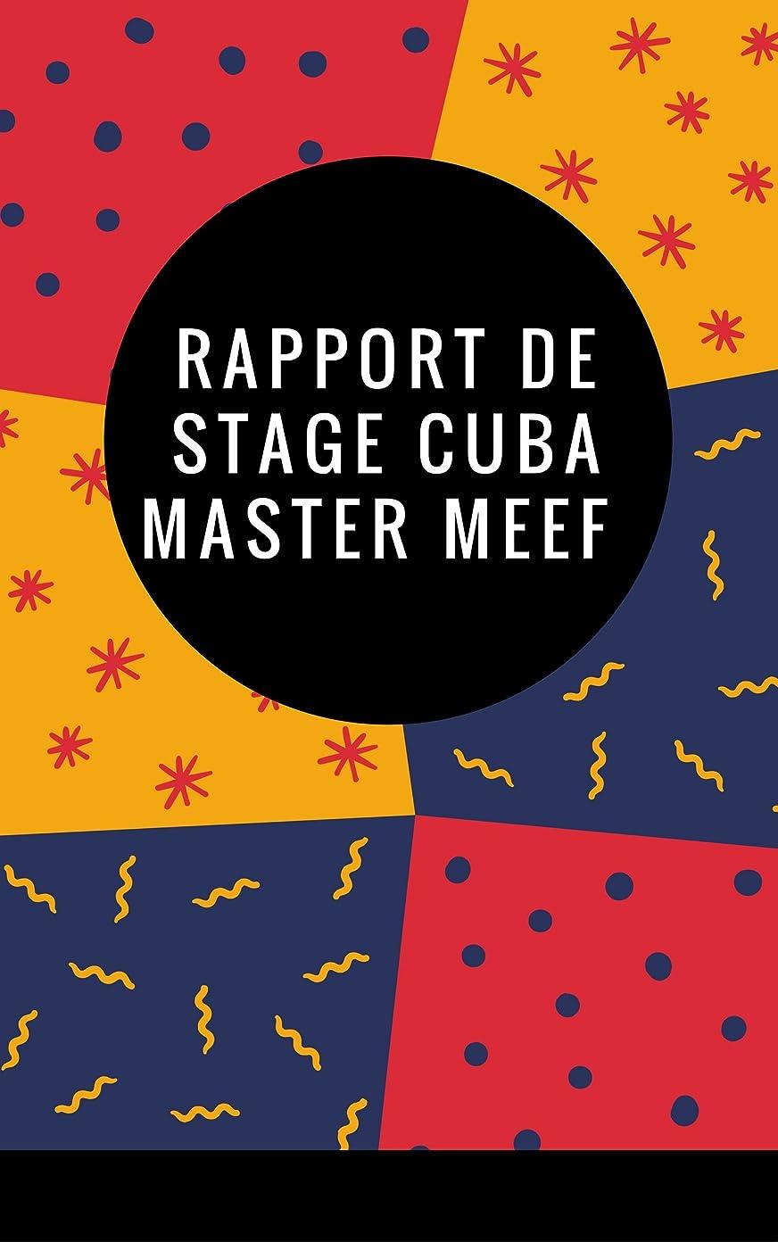 集団的小包姉妹Rapport de stage Master MEEF à Cuba (French Edition)