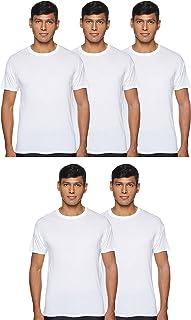 Hanes Men's 2535C4ASTXXL 4 T-Shirts, Multicolour (Assorted)