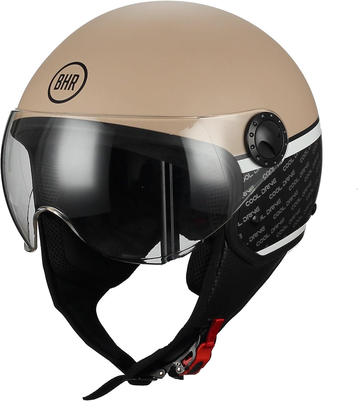 Casco Moto Demi-Jet
