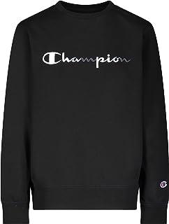 Champion Heritage Kids Cotton Sweatshirt French Terry Lightweight Cotton Hoodie