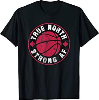 True North Strong and Free (Canada Basketball Logo)