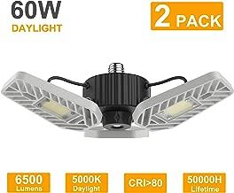 Best flush mount led garage ceiling lights Reviews