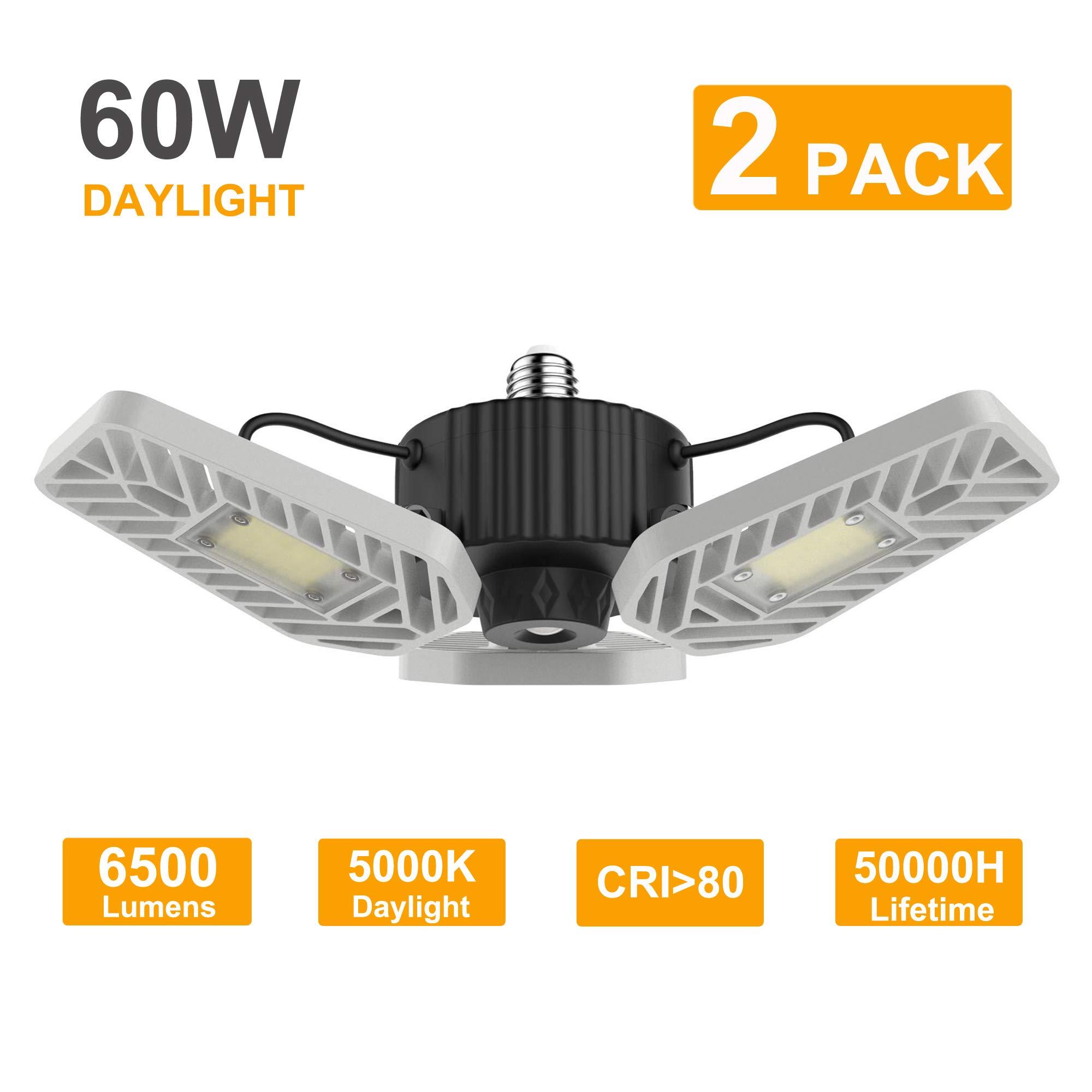 LZHOME 6500Lumens Adjustable Trilights Ceiling
