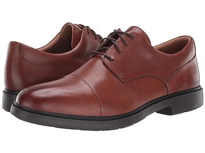 Clarks Un Tailor Cap (Tan Leather) Men