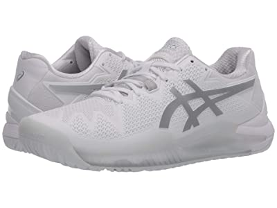 ASICS Gel-Resolution 8 (White/Pure Silver) Men